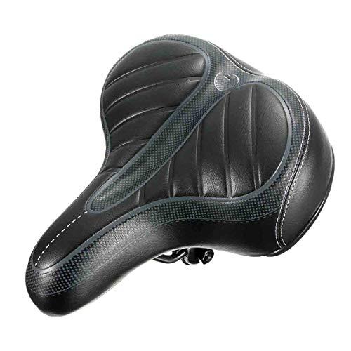 WZ YDTH Fietszadel, traagschuim gel fietszadel, hol, ergonomisch fietszadel, brede Big Bum Bike fiets gel Cruiser extra sportief soft pad zadel