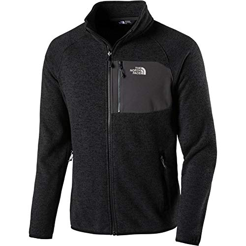 THE NORTH FACE Herren Arashi Innen Fleece Jacke, TNF Black Heather, S