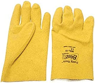 Fuzzy Duck PVC Gloves - Extra Large