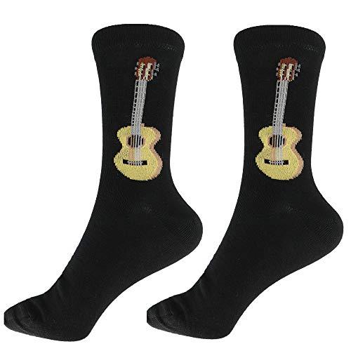 mugesh Musik-Socken Gitarre (43/45) - Schönes Geschenk für Musiker