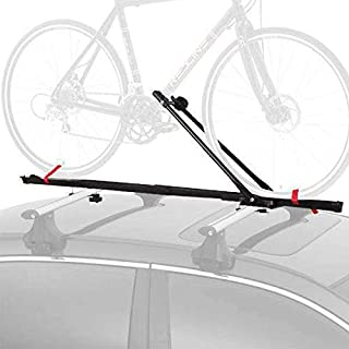 CyclingDeal 1 Bike Car Roof Mount Rooftop Carrier Rack Bicycle Racks with Lock