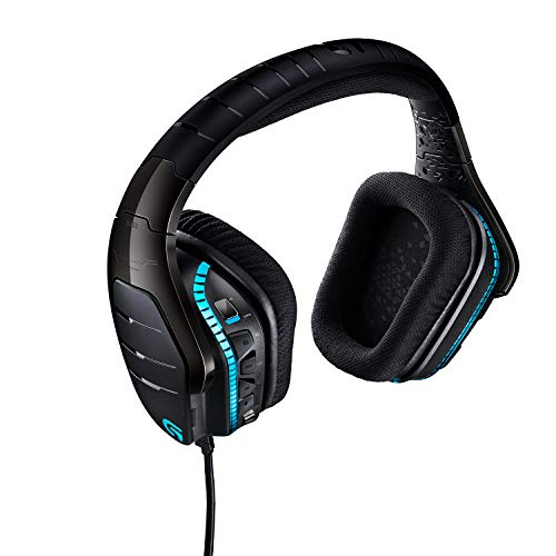 Logitech G633 Artemis Spectrum Pro, Gaming Headset, 7.1 Surround Sound, DTS Headphone:X 3D, Noise-Cancelling Mikrofon, RGB-Beleuchtung, G-Tasten, PC/ Mac/Xbox One/PS4/Nintendo Switch - blau