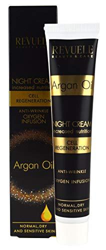 Revuele Argan Oil Cell Regeneration Oxygen Crème de nuit infusée 50 ml