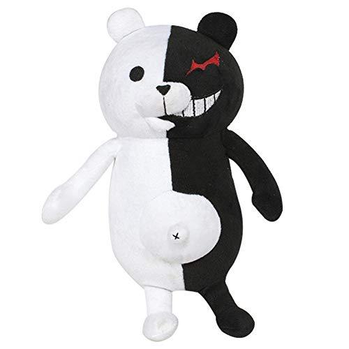 Haushele OFD Danganronpa: Trigger Happy Havoc Monokuma Schwarz und Weiß Bär Plüschtier Anime Puppe