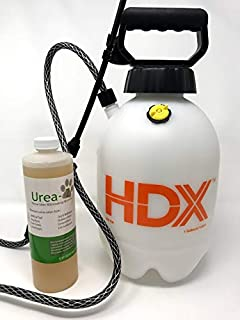 Urea-Z Starter KIT Urine Odor Eliminator Removes Dog Urine Odor from Artificial Turf & Patios (16 Ounces of Concentrated 1-Gallon Sprayer) 16-Ounces of Concentrate = 2 gallons of Product