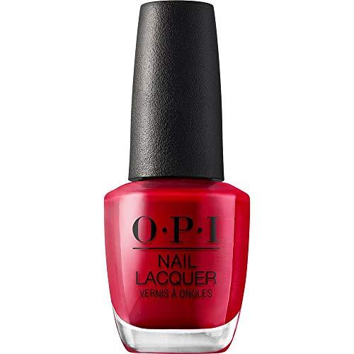 OPI Nail Lacquer - Esmalte Uñas Duración de Hasta 7 Días, Efecto Manicura Profesional, The Thrill of Brazil Rojo - 15 ml
