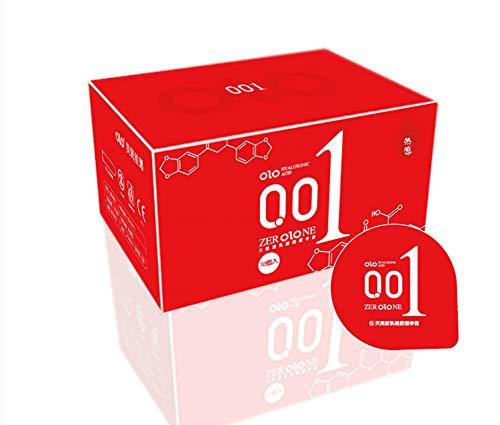 Kondom Ultradünne Zeitfreie Langanhaltende Silikonfreie Empfängnisverhütende Sexprodukte Rot 54Mm