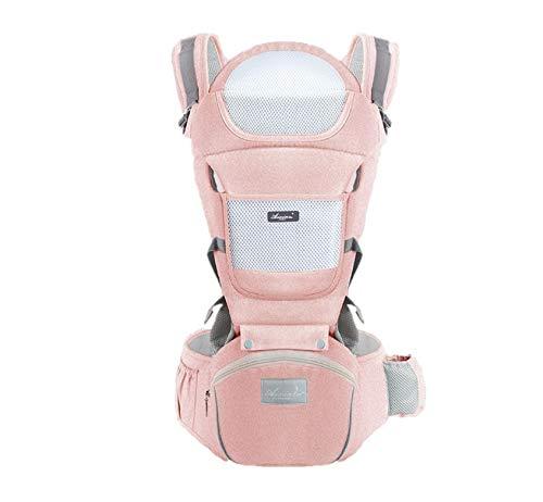 Suporte Canguru para bebê - Ergonômico (Rosa)
