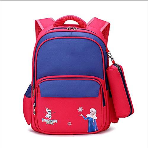 ZHAOYONGBING Children Backpack,Kindergarten Backpack, Backpack For Primary School Students, Personalized Children, Breathable, Shoulder Bag, Cartoon. Pink
