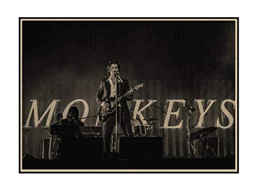 Arctic Monkeys Kraft Poster Rock Band music Bar decoración Muebles para el hogar Drawing core Wall stickers 42 * 30CM