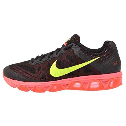 Nike Herren AIR MAX Tailwind 7 Laufschuhe, Black (Black (Schwarz/Volt-Hot Lava-Lava-Glühen), 44 EU