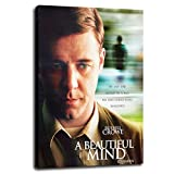 A Beautiful Mind' Starring Russell Crowe Canvas Prints...