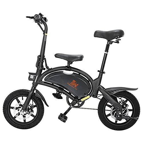 Bicicleta Adulto, Mejor Bicicleta electrica Motor de 400W hasta 45 Km/h, Bateria...