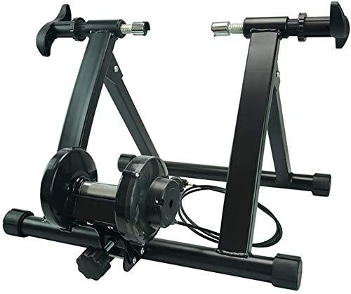 YZPJSQ Vélo Entraîneur Support Vélo Exercice Support magnétique intérieure avec dégagement Rapide for vélos de Route et de Montagne