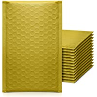 50-Pack KeePack 4x8 Inch Poly Bubble Mailers Self Seal Shipping Bags