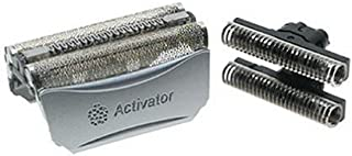 Braun 8000 Activator Combi-Pack Foil and Cutterblock Replacement Parts for Braun's Activator Razor Models 8595 and 8585
