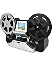 Mersoco Escáner de película para 8 mm y Super 8 película, digitalizador de película Digitalización Super 8 Digital Film Converter HD 1080P 2.4''LCD