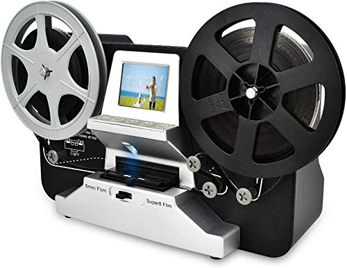 SUPER 8 Normal 8 Filmscanner mit 2,4