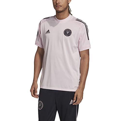 Adidas - Camiseta de entrenamiento para hombre, diseño del Inter Miami F.C. - Rosa - X-Large