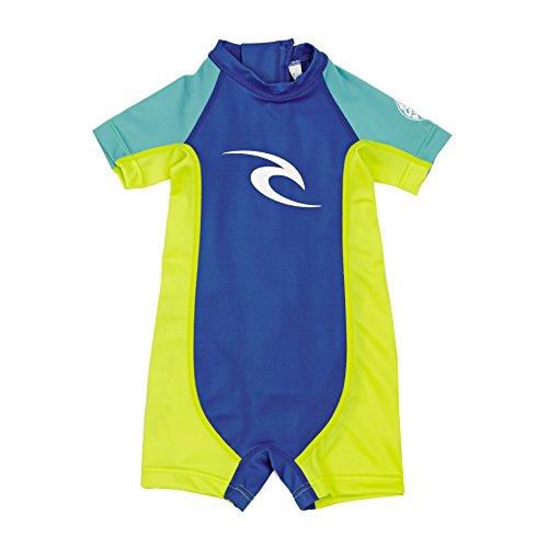 Rip Curl Kinder wetsuit Groms S/SL UV Spring Light Blue 4