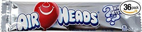 Airheads Taffy Candy Super-cheap Bars White Mystery 0.55 15.6 Pack Oz G Award-winning store