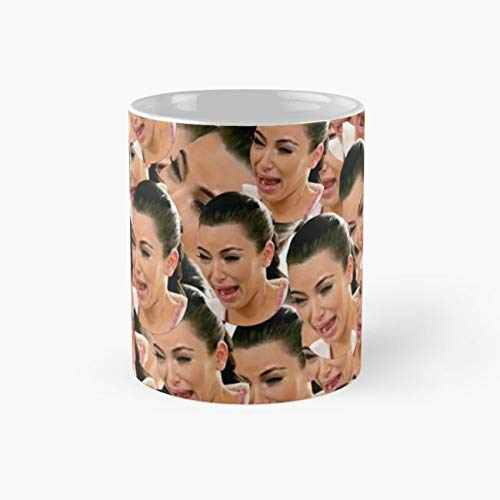 gocontigo - Crying Kim Kardashian Mug 11 Oz White Ceramic