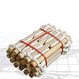 Strickleiter Kinder Outdoor Erwachsene 5m/3m Rettungsleiter Weiche Leiter aus Nylon und Holz Fluchtleiter mit Haken Home Klettern Engineering Leiter