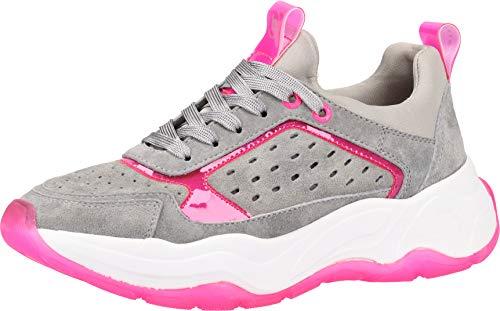 bugatti Damen 432787037459 Sneaker, Grau (Grey/Pink 1536), 38 EU