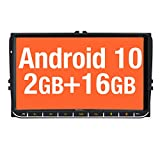 Vanku autoradio Android 10.0 da 9 pollici per autoradio VW con sistema di navigazione supp...
