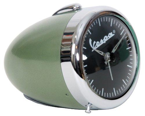 Original Vespa Wecker/Alarm in vintage grün