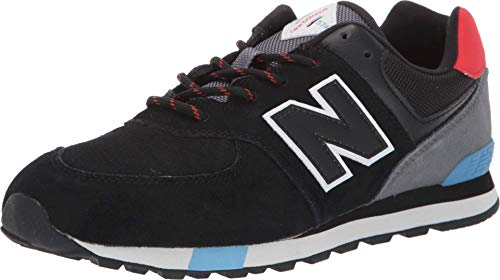 New Balance Baby-Jungen Iconic 574 V1 Sneaker, Schwarze Velocity, 18.5 EU