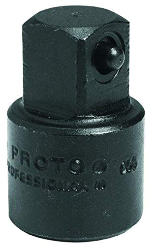 "Stanley Proto J7651 Proto 1/2"" F x 3/8"" M Impact Drive Adapter"