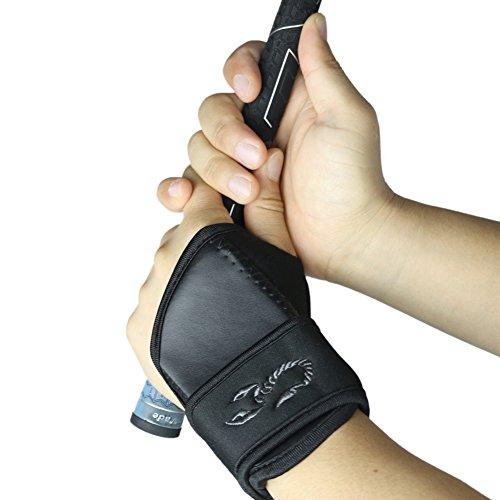 Elixir Golf Swing Trainer Wrist Brace Band, Left Black