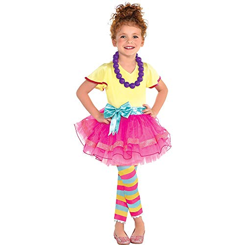 Fancy Nancy Halloween Costume for Girls, Small, with Included Accessories, by Party City