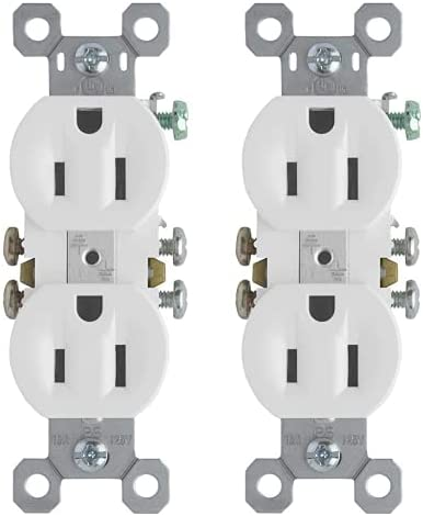 discount Legrand-Pass online & Seymour 3232WCP8 15A/125V TradeMaster Duplex Receptacle, 2021 10-Pack, White (2) outlet sale