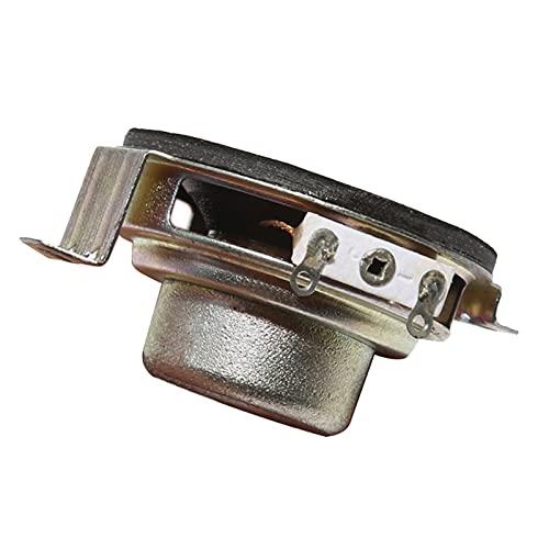 Wnuanjun 2 stücke 1,5 clm Full Range Lautsprecher 5W 40mm Tragbare Lautsprecher 4 Ohm 8Ohm Mini Lautsprecher Hörner Audiokarauto Lautsprecher DIY Home System (Farbe : No.3 8ohm, Größe : 1.5