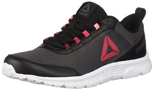 Reebok Speedlux 3.0 - Zapatillas de running para mujer, Negro (negro, blanco, gris (Black/Ash Grey/White)), 42.5 EU