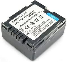 PremiumDigital 80-233-16 Small Panasonic NV-GS280 Replacement Battery Black