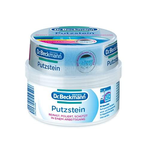 Dr. Beckmann Putzstein, Universalreiniger mit Aktivkohle, Allzweckreiniger inkl. 2-Phasen-Putzstein (400 g)