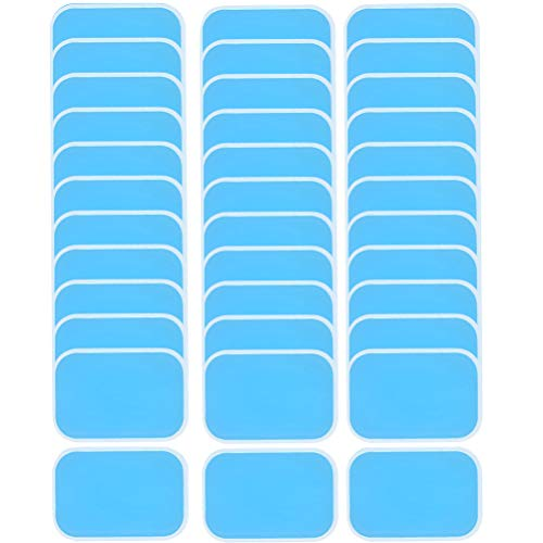 NA Abs Trainer Replacement Gel Sheet Replacement Pad 48PCs EMS Gel Pad Gels Pad for EMS Trainer Abdominal Trainer Electric Muscle Stimulation