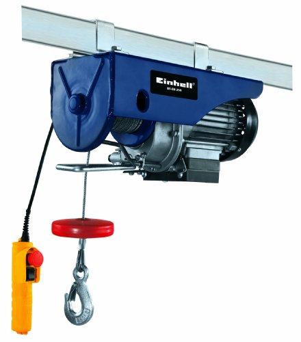 Einhell BT-EH 250 - Polipasto 250 kg (500 W) color azul