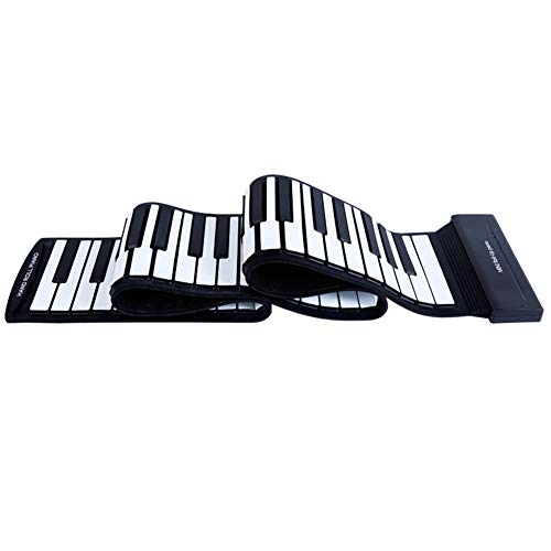 Buy Discount Finetoknow Portable Electronic Hand Roll Piano Flexible Roll up Keyboard Silicone Piano