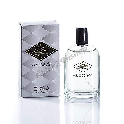 Black Onyx 100ml Eau de Parfum La Chriz Absolute woman