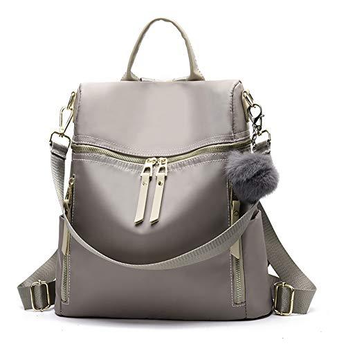 Designer Leather Backpack Purse Multifunctional Ladies Backpacks Solid Shoulder Headphone Plug Bags for Womens Book Bags