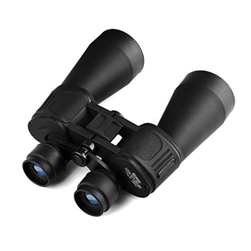 Binoculares Negros, Grandes, Impermeables, a Prueba de Niebla, Lentes FMC para observación de Aves, Senderismo, Viajes, Viajes, Mini 15 x 60, potentes binoculares para Adultos con visión Nocturna con