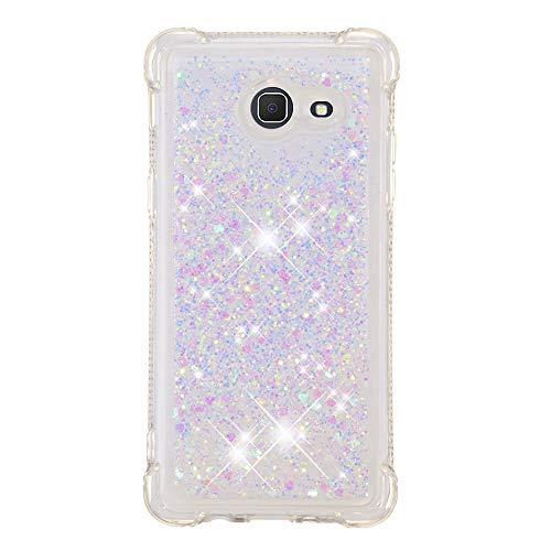 Galaxy J5(2017) Case, Folice[Liquid Series] Sparkle Bling Liquid Moving Ultralight Cute Quicksand Thin TPU Protective Cover for Samsung Galaxy J5(2017) / J520 (Girlish Dream)