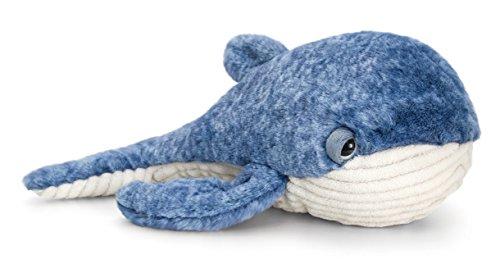 Lashuma Plüschtier Wal, Kuscheltier Blauer Fisch, Stofftier Keel Toys 35 cm