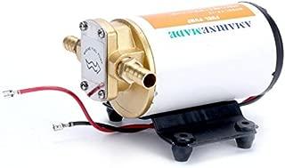 Amarine Made 12v Scavenge Impellor Pump- for Diesel Fuel Scavenge Oil Transfer - White Shell