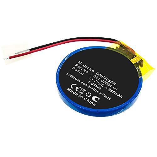 CELLONIC® Batería Premium Compatible con Garmin Forerunner 405 / Forerunner 405CX / Forerunner 410 / Forerunner 410CX, 361-00034-00 280mAh Pila Repuesto bateria