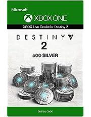 Xbox Live Carta Regalo per Monete d'argento di Destiny 2: 500 Xbox One/Windows 10 PC - Codice download